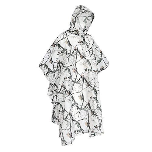 Poncho impermeable para lluvia y nieve, cubierta para tienda de campaña, refugio de camuflaje para caza, camping