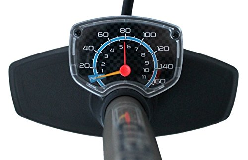 Standpumpe mit Extra grossem Manometer BETO Fahrradpumpe – für Alle Ventile - 4