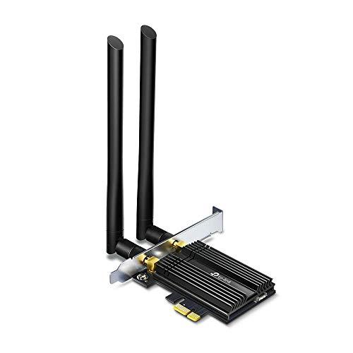 TP-Link Scheda di Rete Wireless Wi-Fi con Bluetooth 5.0, AX3000 Wi-Fi 6 PCIe, supporta solo Windows 10 (64 bit), Archer TX50E