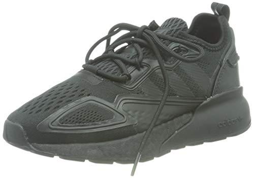 adidas ZX 2K Boost J, Zapatillas Deportivas, Core Black Core Black Shock Pink, 37 1/3 EU