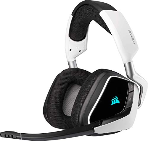 Corsair VOID ELITE RGB Wireless Gaming Headset (7.1 Surround Sound, Low...