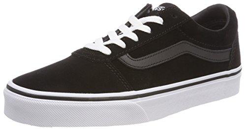 Vans Damen Ward  Bas Sneaker,  Schwarz ((Suede) Black/White 0xt),  39 EU