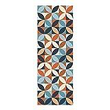 Alfombra Vinílica, 50 x 140 cm, Geométrico, Multicolor, ALV-110
