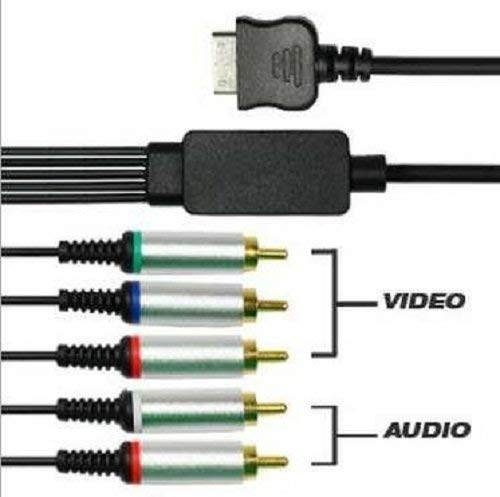 Desconocido Cable COMPONENTES AV para Consola Sony PSP GO Video Y Audio CONEXION TV