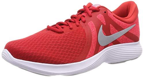 Nike Nike Revolution 4 Eu, Herren Laufschuhe, Rot (University Red/Wolf Grey/Red Orbit/White 601), 47 EU (11.5 UK)