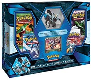 Pokemon Black Kyurem Box w/ Figure, Foil & 4 Black & White Series Booster Packs!