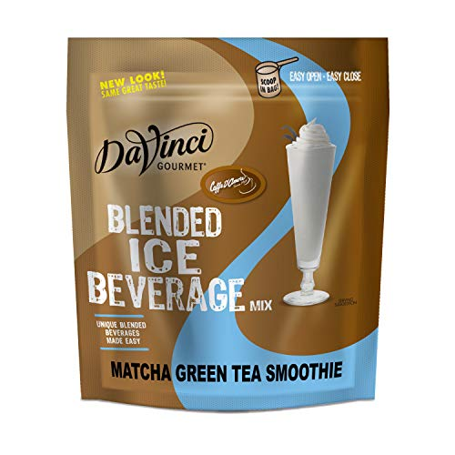 Frappe Freeze Matcha Green Tea Smoothies Blended Drink Mix, 3 Pounds
