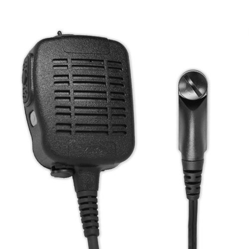 Great Features Of ARC S51036 Heavy Duty Anti-Magnetic Speaker Shoulder Microphone for Harris (MA/COM...