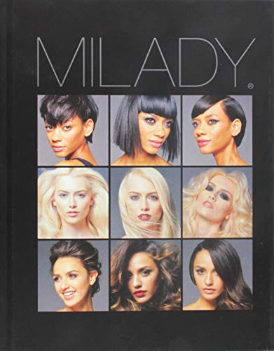 Bundle: Milady Standard Cosmetology, 13th + Theory Workbook + Practical Workbook + Situational Problems + Exam Review