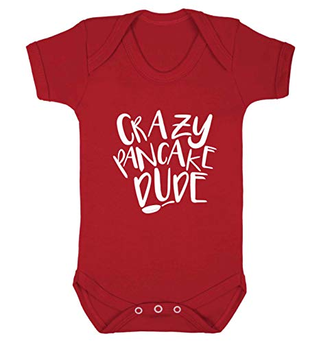 Flox Creative Baby Weste Crazy Pancake Dude Gr. 6-12 Monate, rot