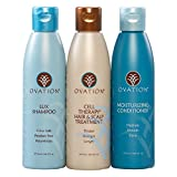 Ovation Legacy Cell Therapy System (6 oz.) - Contains Lux Shampoo, Cell Therapy Hair & Scalp Treatment, and Moisturizing Conditioner. For Deeper Cleanse. Safe for Color Treated Hair. Made in the USA
