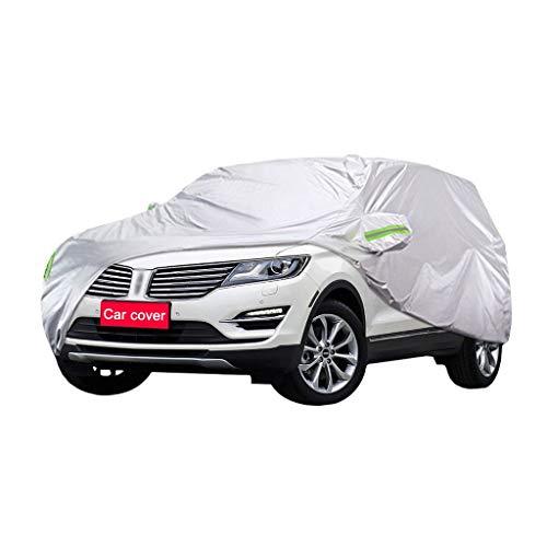 Couverture de voiture Compatible avec Lincoln MKC Car Cover SUV épais Tissu Oxford Protection contre le soleil chaud antipluie Car Cover Couverture (Size : 2017)