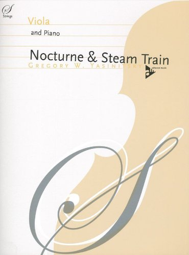 Nocturne & Steam Train Alto-Livre +Partition