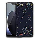 HELLO GIFTIFY Phone Case Compatible with Google Pixel 3a XL (6.0 inch 2019) Clear Soft TPU Gel Protective Rubber Cover, Celebration Theme Designed