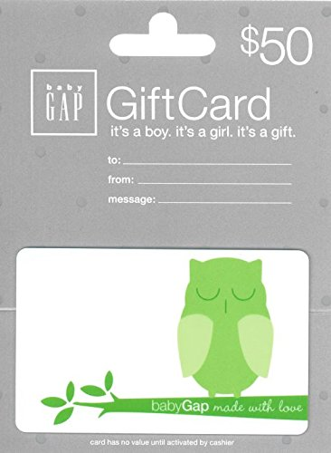 Baby Gap Card Gorgeous Gift Sale Special Price