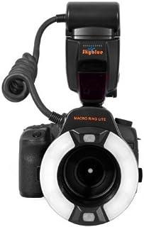 Khalia Foto Meike MK 14EXT Makro E TTL Ringblitz für Canon mit LED Hilfslicht