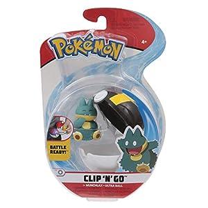 Giochi Preziosi Pokemon - Pokémon Clip'n Go con Personaje Munchlax & Ultra Ball