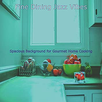 Spacious Background for Gourmet Home Cooking