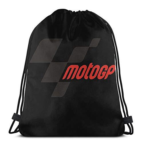 ewretery Bolsas con cordón para Moto Gp unisex con cordón, bolsa de deporte, bolsa grande, bolsa con cordón, mochila de gimnasio a granel