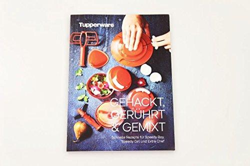 TUPPERWARE receptenboekje gehakkt, geroerd & gemixt kookboekje receptenboekje (mogelijk niet beschikbaar in het Nederlands)