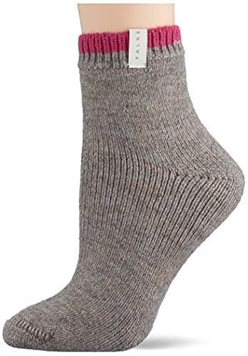 FALKE Damen Cosy Plush W SO Socken, Braun (Nut Mel. 4770), 39-42 (UK 5.5-8 Ι US 8-10.5)
