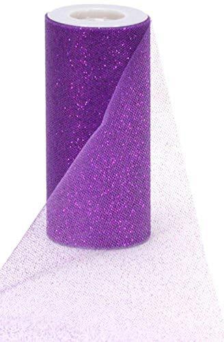 Purple Sparkle Tulle