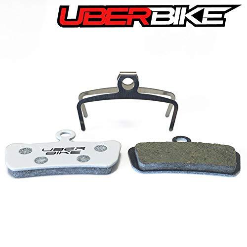 Uberbike Avid XO Trail, Elixir 7 Trail, Elixir 9 XL (Extra Material) Race-Matrix Scheibenbremsbeläge - 4 Paar