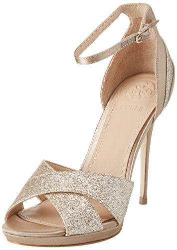 Guess Damen Footwear Dress Sandal Plateaupumps, Beige Medium Natural, 40 EU