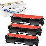 st@r ink - Tóner 17A / CF217A Reemplazo para HP 17A CF217A Compatible con Impresora HP Laserjet Pro M102A M102W HP Laserjet Pro MFP M130a M130nw M130fn M130fw, 3 Negro