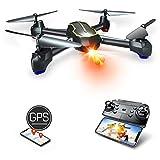 Asbww | Drone GPS con Telecamera Full HD 1080p per Bambini e Principianti -...