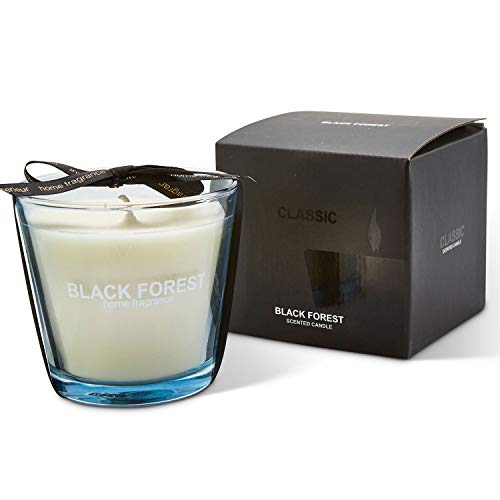 Taylor & Brown 190g Small Black Forest Candle Fragrance Scented Candles In Glass Jar Assorted Relaxing Home Fragrance Xmas Gift Pack