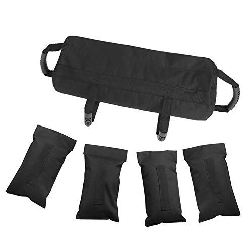 WANGYING Saco de arena para levantamiento de pesas, 18 kg, para entrenamiento muscular, para levantamiento de pesas, para culturismo, gimnasio, deportes, equipo de entrenamiento