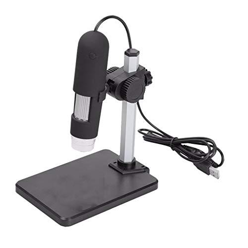 Shiwaki Microscopio Electrónico Digital Lupa 1000X Aumento Puerto USB para Leica