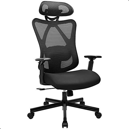 BASETBL Bürostuhl Schreibtischstuhl Ergonomischer Drehstuhl Verstellbarer...