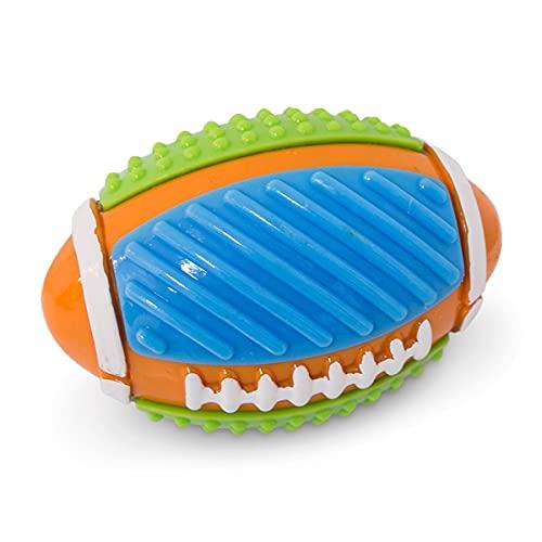 MERVELA Hundeball Hundespielzeug für Hunde, robust, strapazierfähig, Geräusch Gummi Robust Noppen Bälle Training Spielzeug Hundeball Outdoor Kauen Beissen L-XL