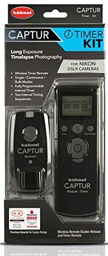 Hähnel HL C NIKON TIM Captur Timer Kit - Kabelloser Fernauslöser und Timerauslöser für Nikon schwarz