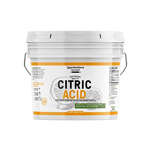 Citric Acid (1 Gallon) for Cooking …