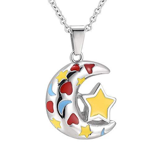 KXBY asbak met ster, crematorische urne, halsketting, sieraden, herdenkingsdag, asbak, opbergen, zakmedaillon, vogel