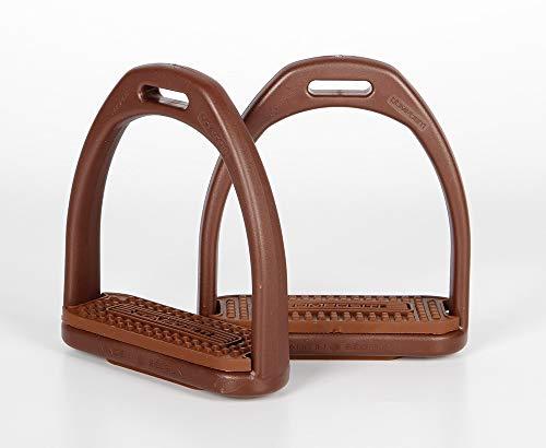 Harry´s Horse Steigbügel Compositi Profile, Farbe:braun-braun, Größe:Adult