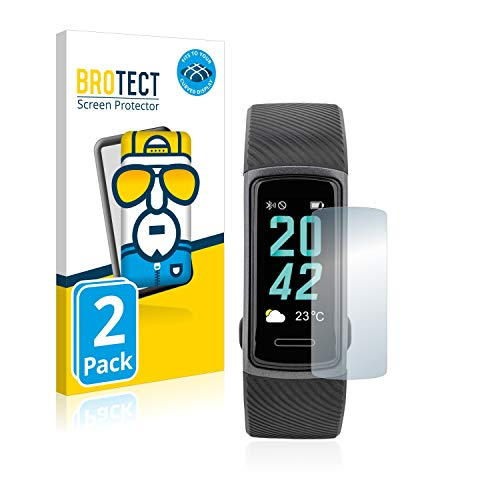 BROTECT Full-Cover Schutzfolie kompatibel mit Medion Life S3750 (2 Stück) - Full-Screen Bildschirmschutz-Folie, 3D Curved, Kristall-Klar