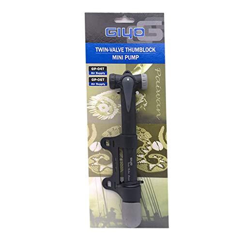 fengchensety Mini Portable Bike Manual Air Pump Push-Type Inflatable Cylinder High Pressure