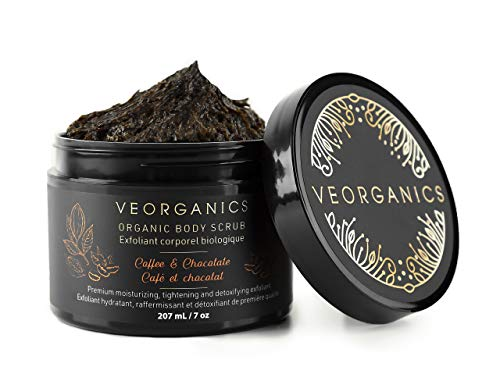 VeOrganics Coffee and Chocolate Organic Body Scrub
