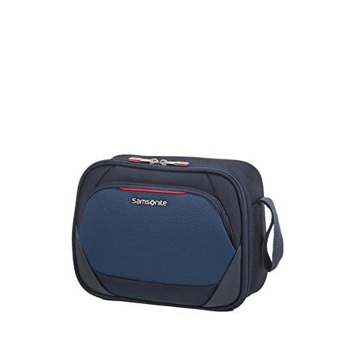 Samsonite Dynamore Borsa Cosmetica da Viaggio, 28 Cm, 6.5 L, Blu (Blue)
