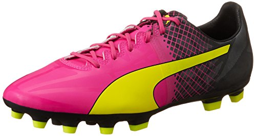 PUMA Herren Evospeed 1.5 Tricks AG Fußballschuhe, Pink (pink glo-Safety Yellow-Black 01), 44.5 EU