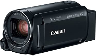Canon VIXIA HF R800 Camcorder (Black) (Renewed)