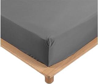 Drap Housse Percale 100% Coton 10 Coloris Différents - 90 X 190cm - 140 X 190cm - 160 X 200cm - 180 X 200cm - Bonnet De 30...