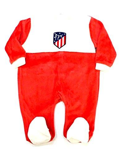 Atlético de Madrid Pelele Manga Larga Terciopelo Bebé