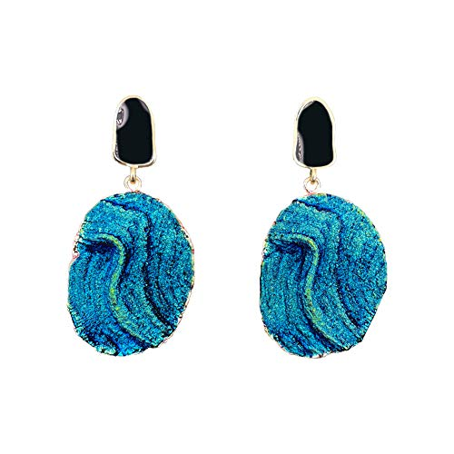 Drop Earrings for Women, Resin and 925 Silver needle, Perfect Presents, Gift Box Packaging