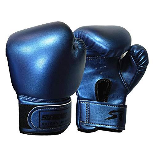 Guantes de boxeo para niños, de piel, guantes de boxeo Muay Thai, guantes de entrenamiento para kickboxing, saco de boxeo, punzonado, almohadillas de enfoque, saco de arena, guantes de boxeo
