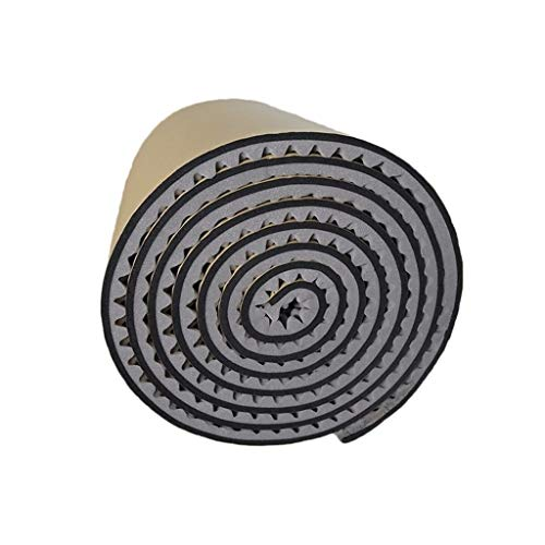 KangJ-Wall decoration KANGjz Schalldämpfer 5 Quadratmeter Schall Schaum, Farbe verdicken schallabsorbierende Baumwolle Familie Umweltschutz Akustikraum Behandlung Schalldämmbaumwolle (Color : Gray)